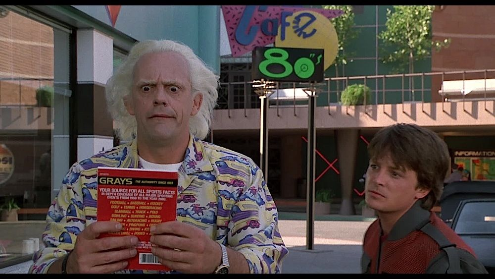 Image 7 back to the future 2 grays sports almanac