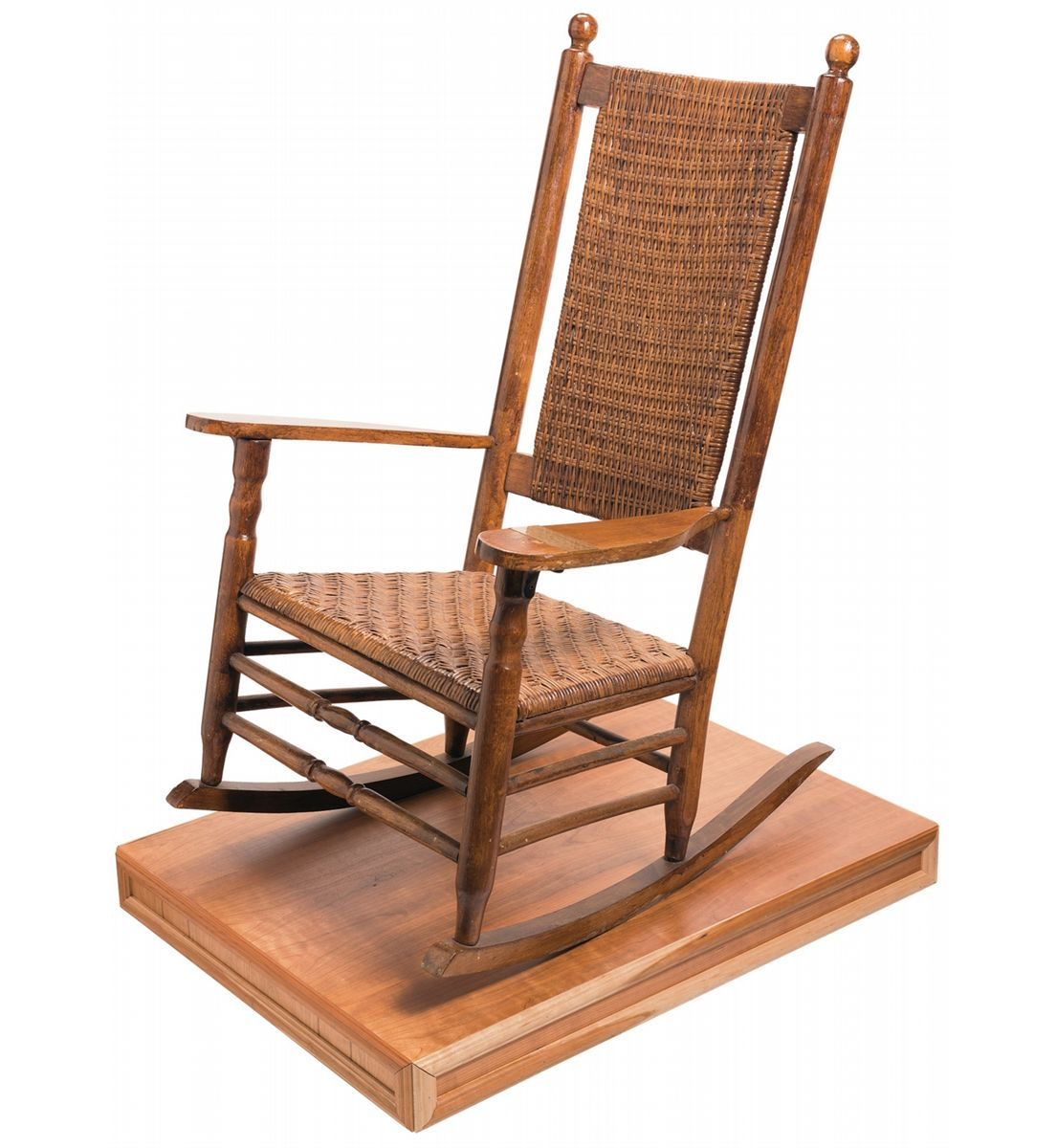 ... John F. Kennedys Rocking Chair as Authenticated by the Kennedy Family