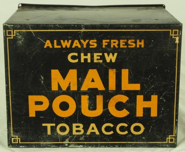 Mail Pouch Tobacco Country Store Humidor Bin - Make an invoice in word tobacco online store