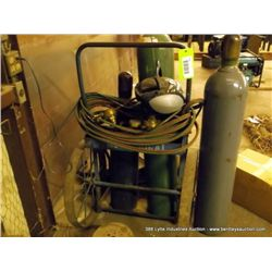 OXY ACETYLENE CART W/ TORCH LEADS