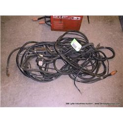WIRE FEED TORCH/WELDER LEADS **GOES W/ LOT 448**