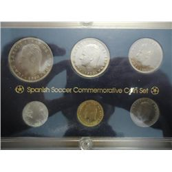 1980 SPANISH SOCCER COMMEMORATIVE COIN SET