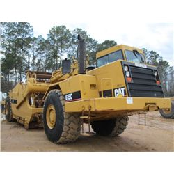 CAT 615C II MOTOR SCRAPER, S/N 9XG01263 (99 YR) ELEVATING, ECAB W/AIR, 29R25 TIRES, METER READING 3,