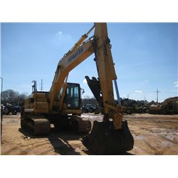 "KOMATSU PC210LC-10 HYDRAULIC EXCAVATOR, S/N 450255 (13 YR) 9'7"" STICK, 48"" BUCKET, THUMB, ECAB W/AIR"