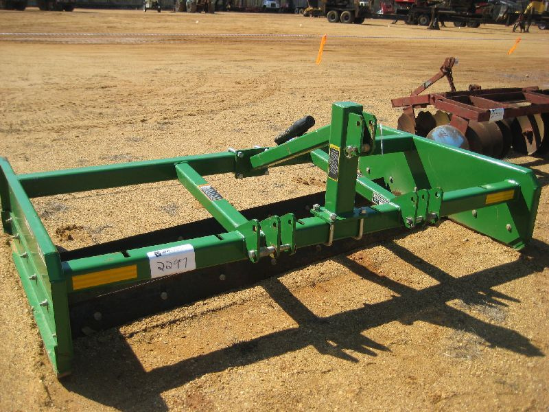 Frontier lp land leveler j m wood auction company