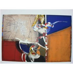 Victor Gomez, Abstractions II, Signed Serigraph