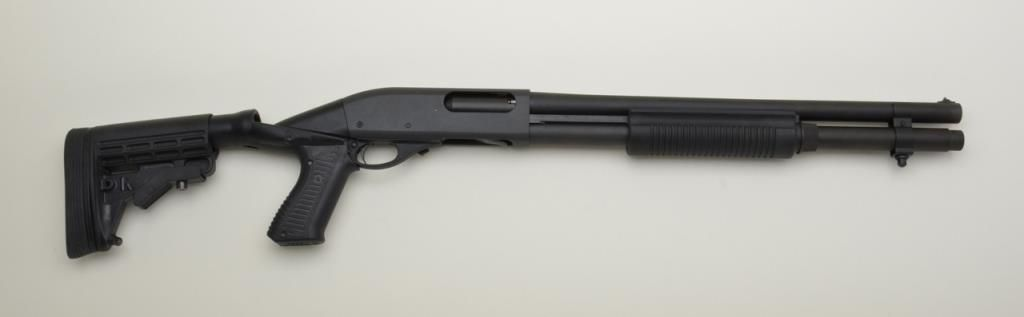 Remington 12 gauge shotgun pump action