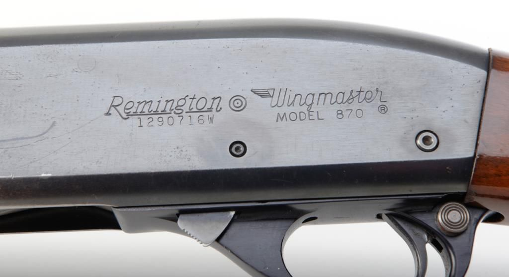 Slots Number 870 Serial Remington Dating By from