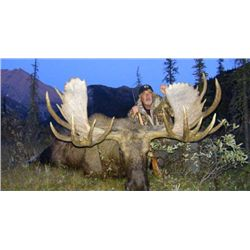 10-day British Columbia Moose, Mtn Goat and Caribou Hunt for One Hunter
