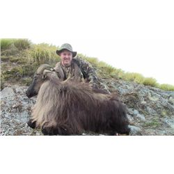 5-day New Zealand Red Stag, Tahr or Chamois Hunt for Three Hunters and Three Observers