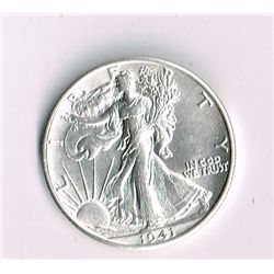 1941-S Walking Liberty Half