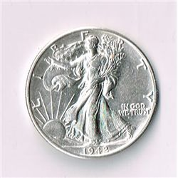 1942-D Walking Liberty Half