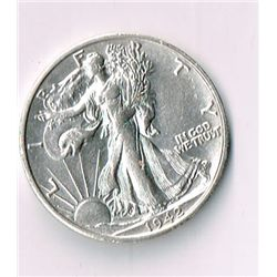 1942-S Walking Liberty Half