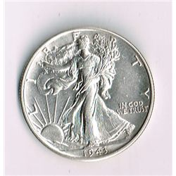 1943-D Walking Liberty Half