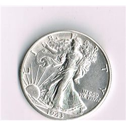1943-S Walking Liberty Half