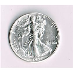 1945-D Walking Liberty Half