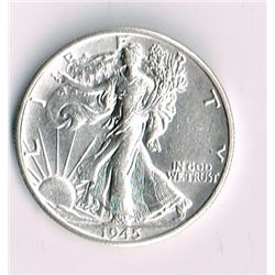 1945-S Walking Liberty Half