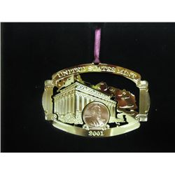 2001 US MINT HOLIDAY ORNAMENT