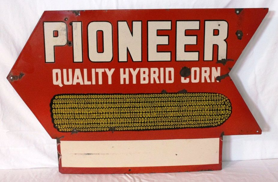 Pioneer Quality Hybrid Corn Double-sided Sign