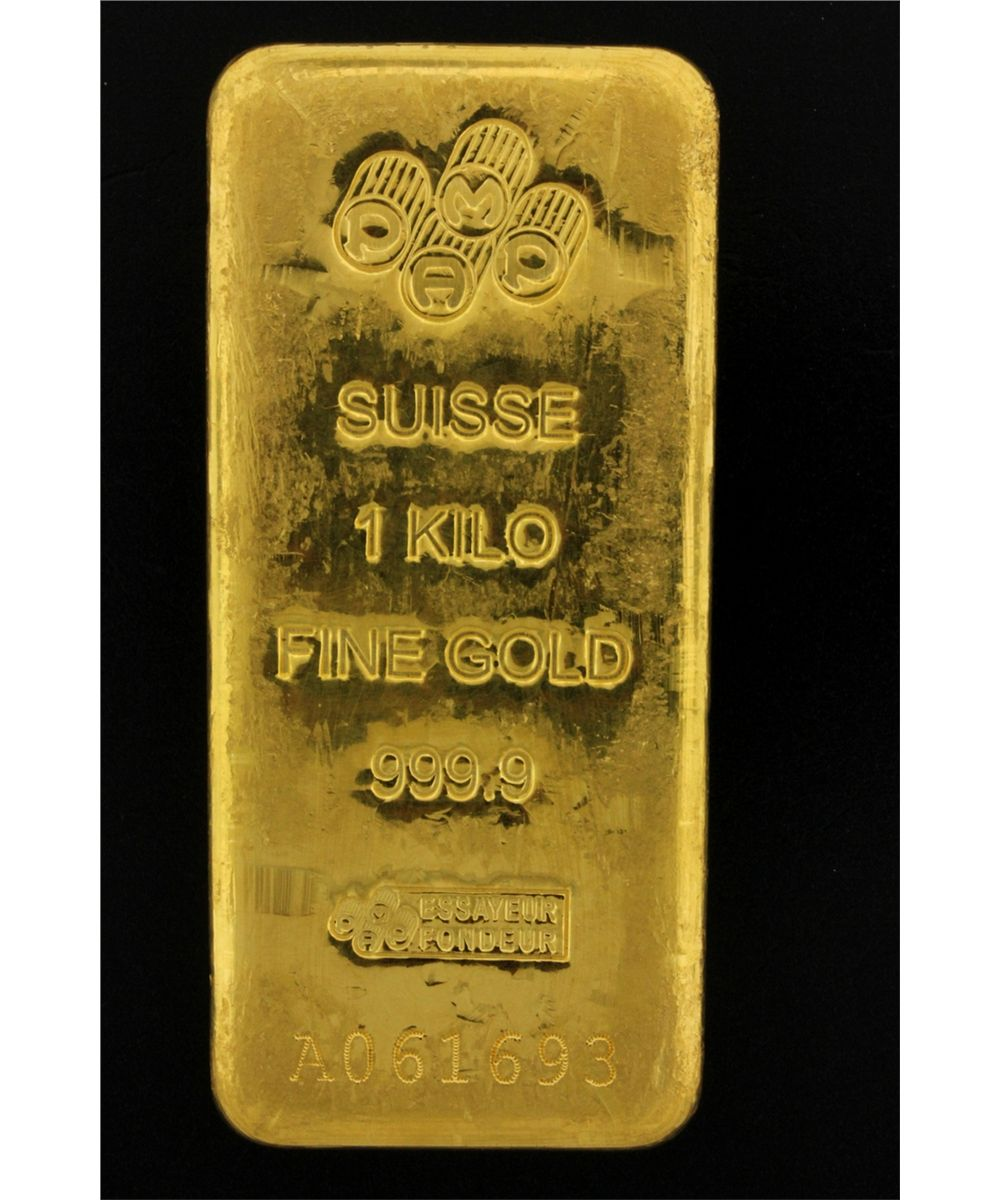 Fine Swiss gold bars
