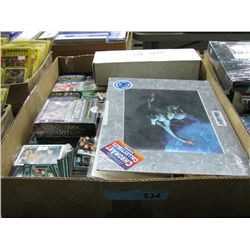 Large Box of Star Trek Cards, Pictures, Etc.