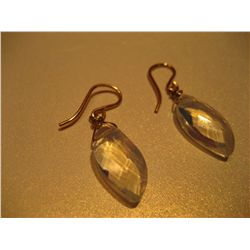 COSTUME JEWELRY 14K GOLD FILLED EARRINGS OPALESCENCE EARRINGS