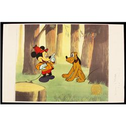 "Walt Disney ""The Pointer"" Ltd Ed Serigraph Cel DisneySeri349"