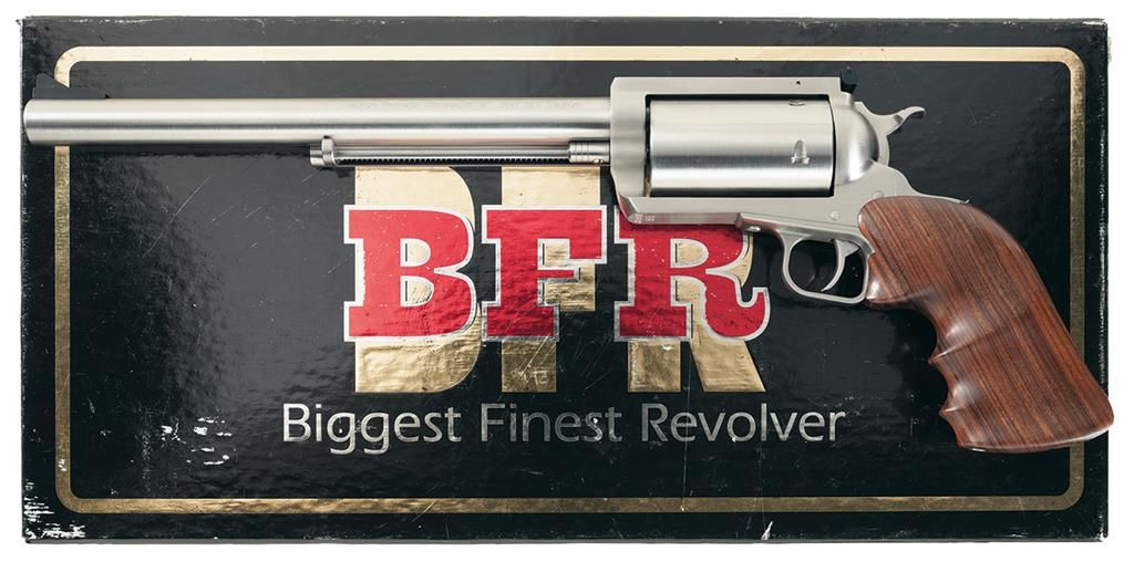 Magnum Research Bfr Long Cylinder Single Action Revolver In 500 S W