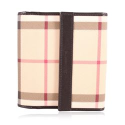 Burberry Check Print Wallet GB2369
