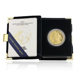 24KT Gold American Buffalo 2006-w Proof Coin JRM296