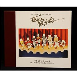 """LOONEY TUNES """"Animation: The Art of Friz Freleng Volume One"""" Collectible Book Set ANMT2"""