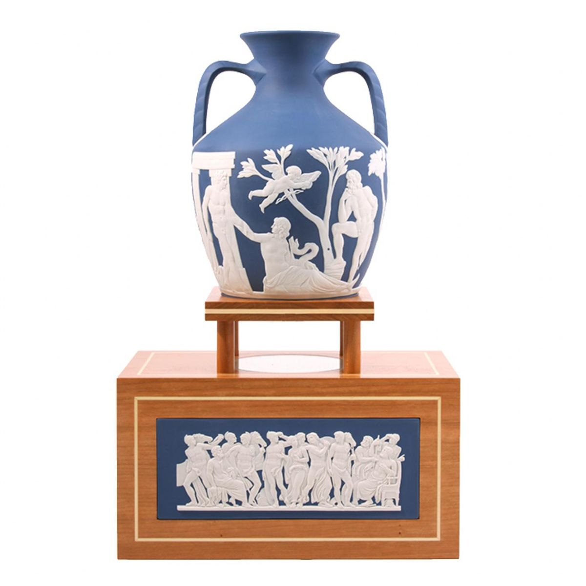 250th prestige collection wedgwood portland vase with stand ed1552 image 1 250th prestige collection wedgwood portland vase with stand ed1552 reviewsmspy