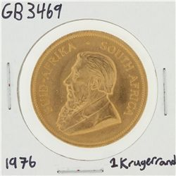 1976 1 Oz South African Krugerrand Gold Coin GB3469