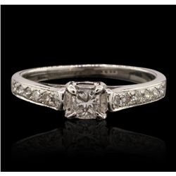 14KT White Gold 0.50ctw Diamond Ring GB4776