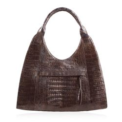 New With Tags Nancy Gonzalez Crocodile Hobo ED1582