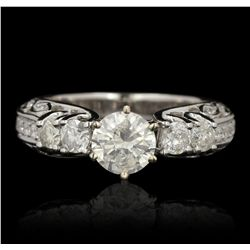 14KT White Gold 1.72ctw Diamond Ring RM1557