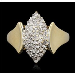 10KT Yellow Gold 0.38ctw Diamond Ring GB2759