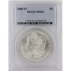 1888-O Morgan Silver Dollar PCGS Graded MS63 SCE1096