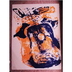 Arman, Guitar, Signed Lithograph