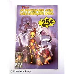 Superhero Movie The Clockwork Girl Comic Book