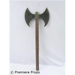 Outlander Double Blade Axe Movie Props