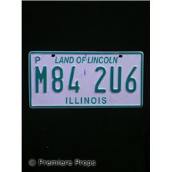 Halloween 2 Illinois License Plate Prop