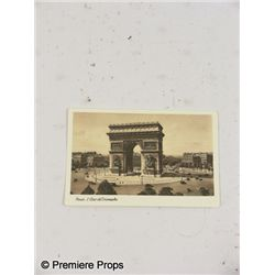 Inglourious Basterds Paris L'Arc de Triomphe Postcard
