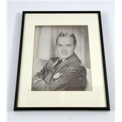 Bob Hope Signed Studio Photo