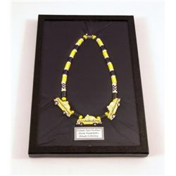 Gloria Vanderbilt Custom Famous New York Taxi Necklace