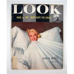 Marilyn Monroe Look Magazine Monroe In Color 1956 Edition