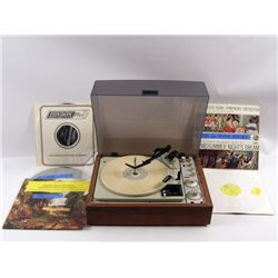 Transcendence KLH Record Player Movie Props