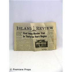 Snow Falling on Cedars Island Review 1950 Newspaper Movie Props