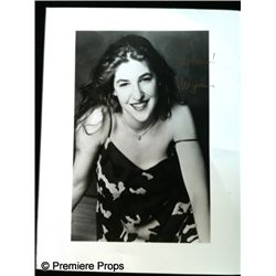 Mayim Bialik Autographed Photo