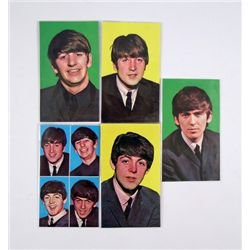 Beatles Original Set Of Dig Magazine 1964 Postcards